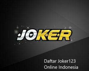 Link Alternatif Slot Joker123